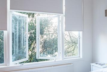 Inhuis plaza nr specialist in raamdecoratie zonwering op