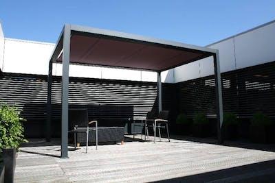modern terrasscherm op maat